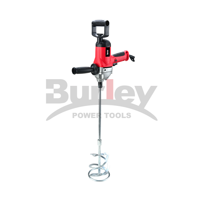 1050W Heavy Duty Drill Mud Mixer With Spade Handle And Variable Speeds For Drilling And Mixing-R6169