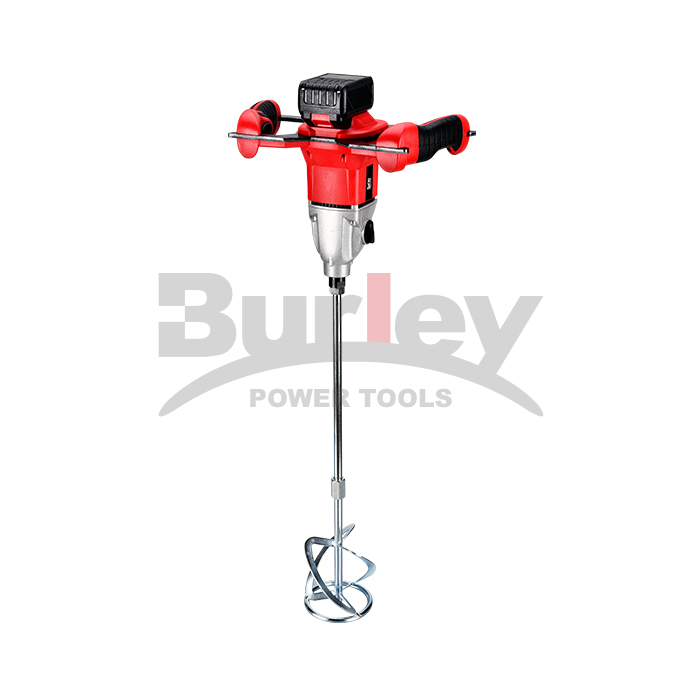 18V Heavy Duty Brushless Motor Cement Concrete Handle Mixer Electric Stirrer Manual Drill High Speed Paint Mixing Machine-BR6307