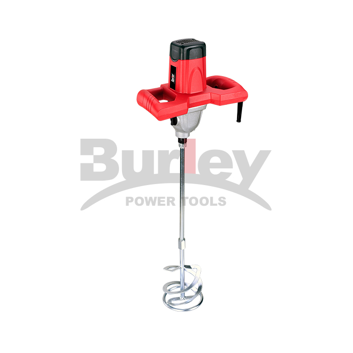 1400W Electric Economic Mortar Mixer Handheld Concrete Cement Plaster With High And Low Gears, Adjustable Stirring Tool Paint Grout Mixer-R6205