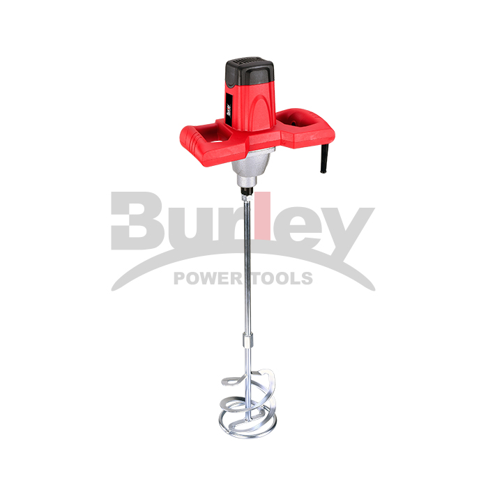 1220W/1400W Electric Economic Mortar Mixer Handheld Concrete Cement Plaster, Adjustable Variable Speed Mixer Machine With 120Mm/140Mm Mixing Paddle-R6204