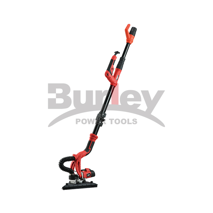 600W / 710W Foldable handle Na-agbazi Speed ​​Drywall Sander Ergonomics na-eji Dual Head-R7237-CT mee ihe
