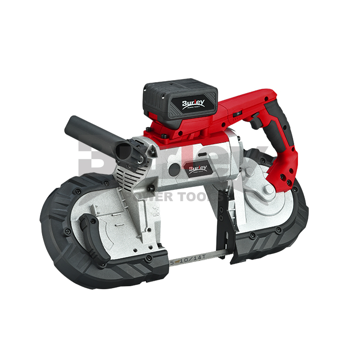127mm 18V Deep Cut Portable Cordless Band Saw with 14TPI Saw Blade and LED Light-BR2104