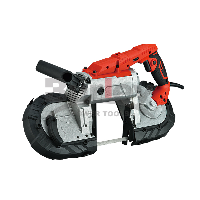 127mm Cut Capacity Portable Band Saw With 14TPI Saw Blade And LED Light,Lock On Switch-R2103-2