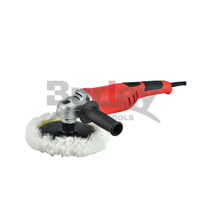 1100W / 1200W polisher ya gari inayobadilika kasi ya polisher na Readout ya dijiti 180mm Pad na kushughulikia-R7183