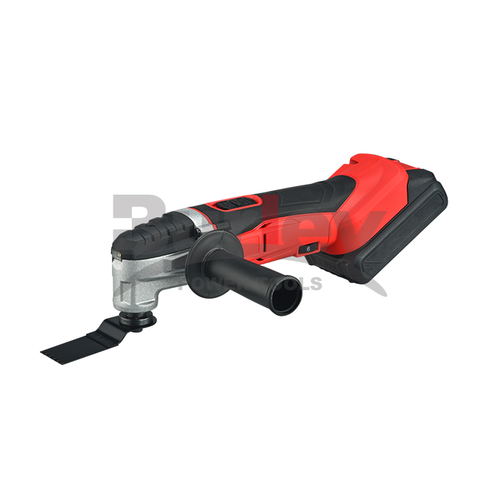 Cordless Oscillating Tool, 400W Oscillating Multi Tool nga adunay 4 ° Oscillation Angle, Variable Speed ​​ug 5pcs Accessories-BR5120