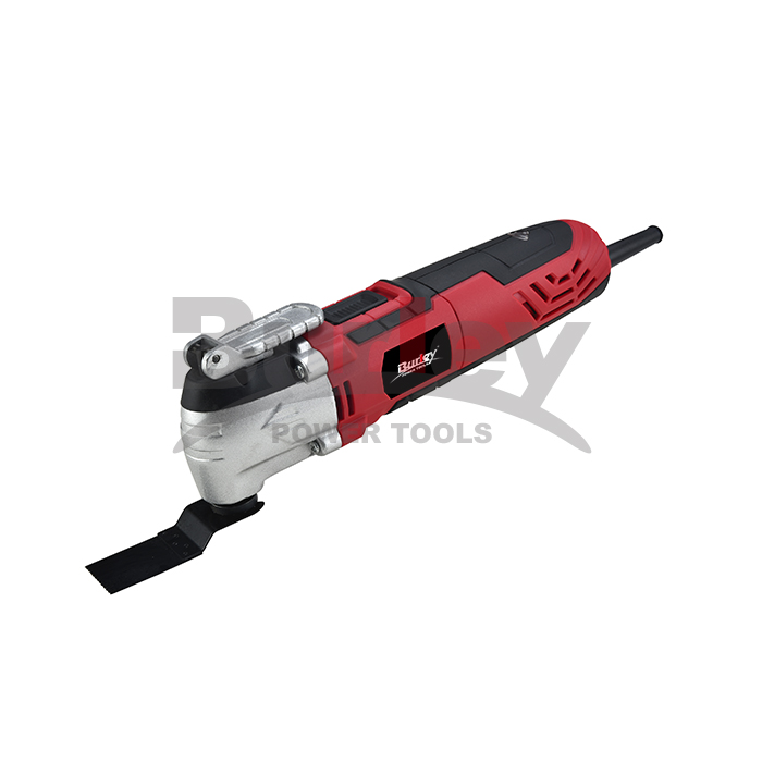 Oscillating Tool, 300W / 400W Oscillating Multi Tool nga adunay 4 ° Oscillation Angle, Variable Speed ​​Ang dali nga pagbag-o sa accessory system ug 5pcs Accessories-R5102A / R5102B